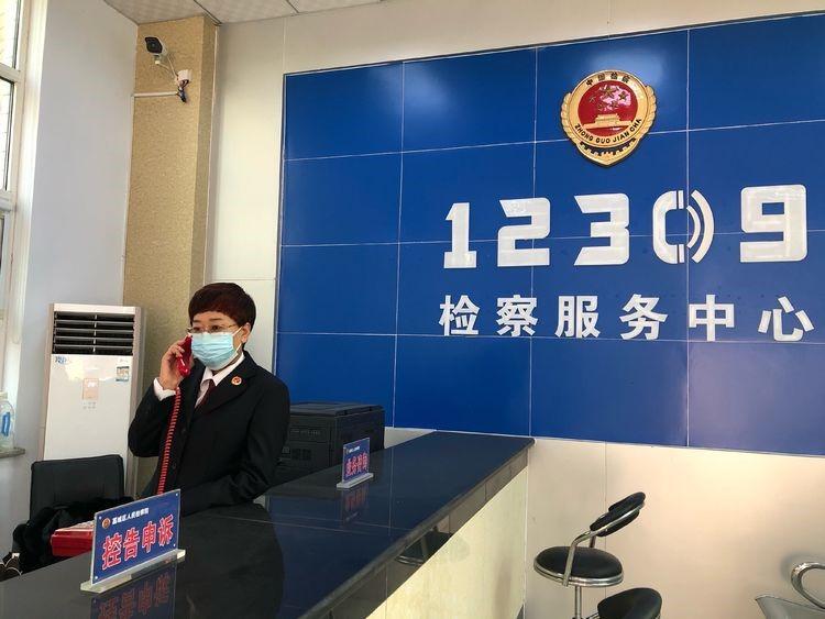 """藁城检察院控告申诉工作不停歇 暖心服务让群众吃下""""定心丸"""""""