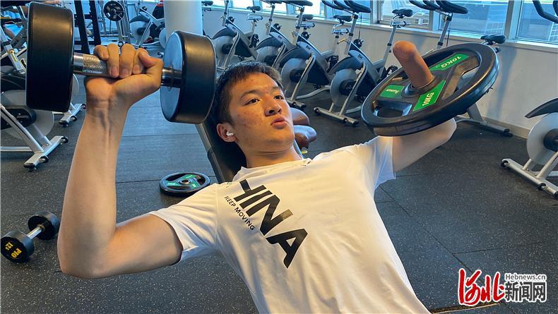 河北省运动员积极备战北京冬残奥会