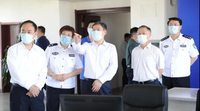 郭文奇到河北省调研司法行政系统队伍教育整顿工作