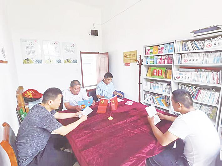 """临西首批20个农村""""法律图书苑""""投入使用"""