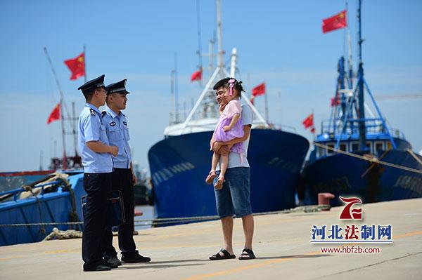 省公安厅海防管理总队沧州支队扎实做好休渔期岸线管控工作